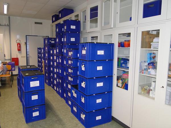 Kinderforscher Kistenlager