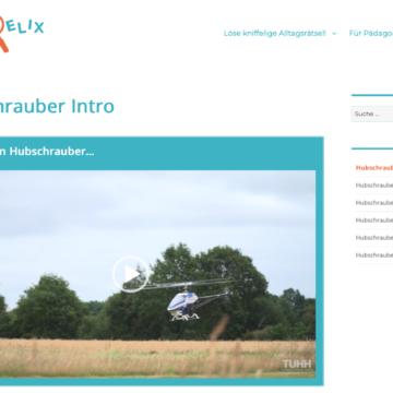 Die Entstehung des Hubschrauber Rätsels – ein Erfahrungsbericht